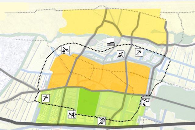 fietspad 'rondje Noordwijk'